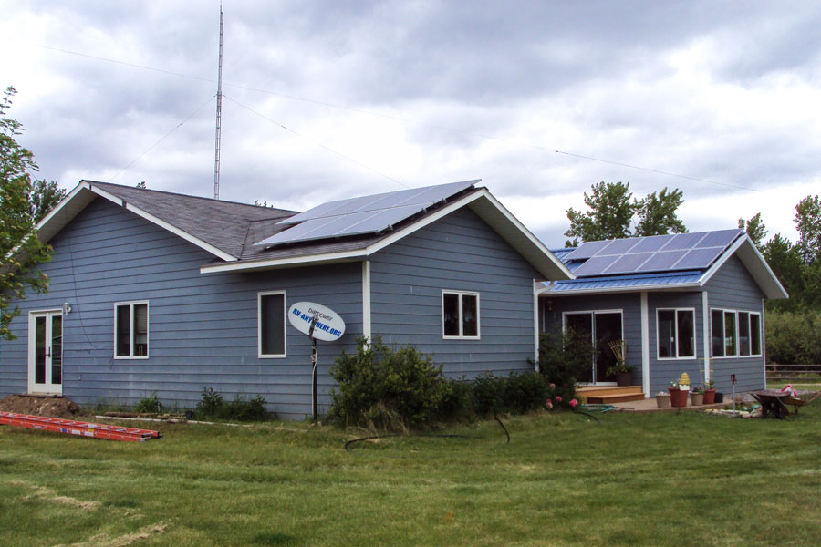 3.5 KW Grid Tied in Corvalis, MT