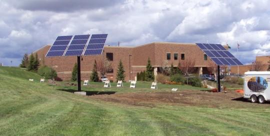 Fixed Mount and Tracker at Eastern Washington University in Cheney, WA
