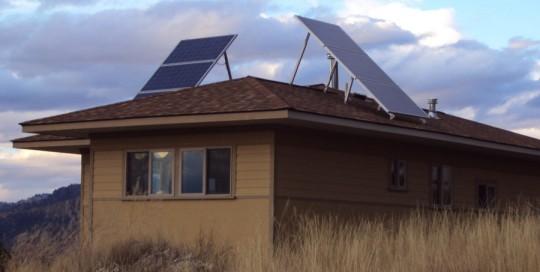 Off Grid Solar Install near Craig, MT