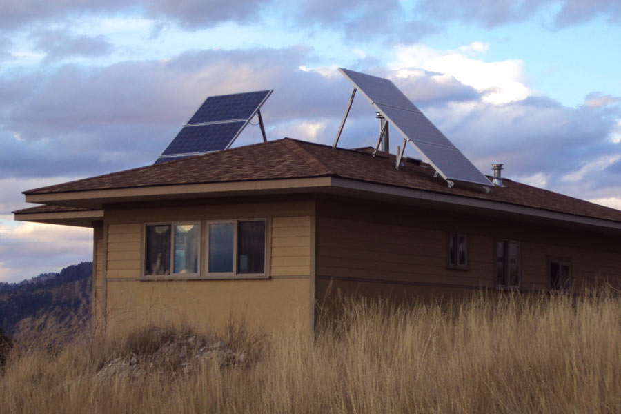 Off Grid Solar Install near Craig, MT