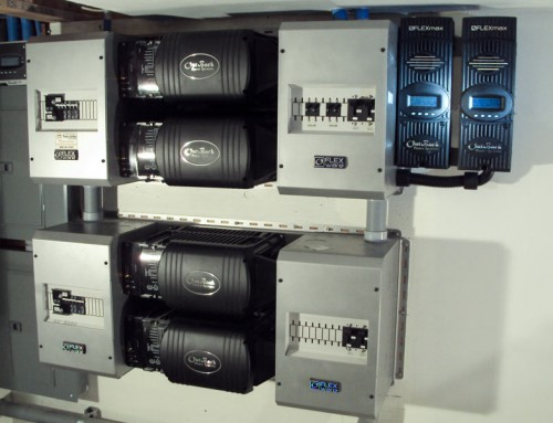 Outback Power Inverter Quad Stack Off Grid System