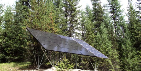 Snap N Rack Solar Upgrade in Libby, MT