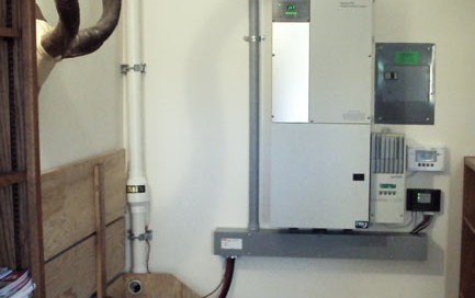 XW Inverter Grid Tied with Battery Backup in Eureka, MT