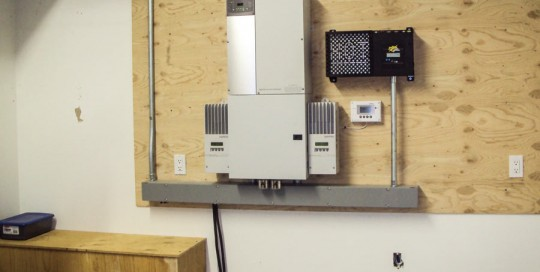 XW Series Grid Tied Inverter and Whisper Wind Controller with Battery Backup in Ronan, MT